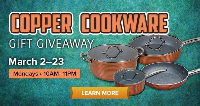 Copper Cookware Gift Giveaway