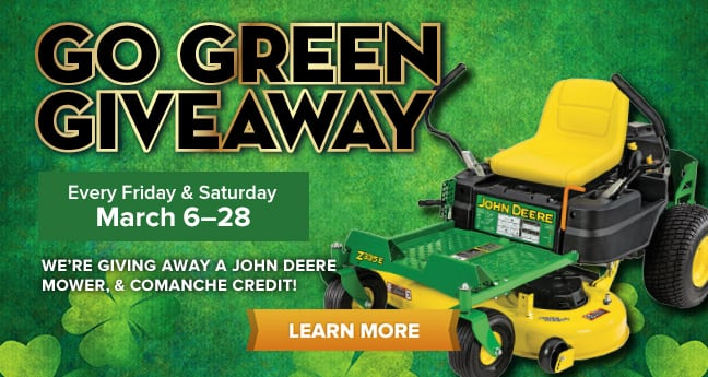 Go Green Giveaway