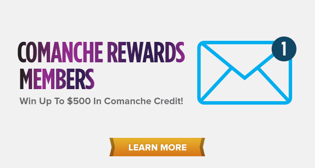 Comanche Rewards Members
